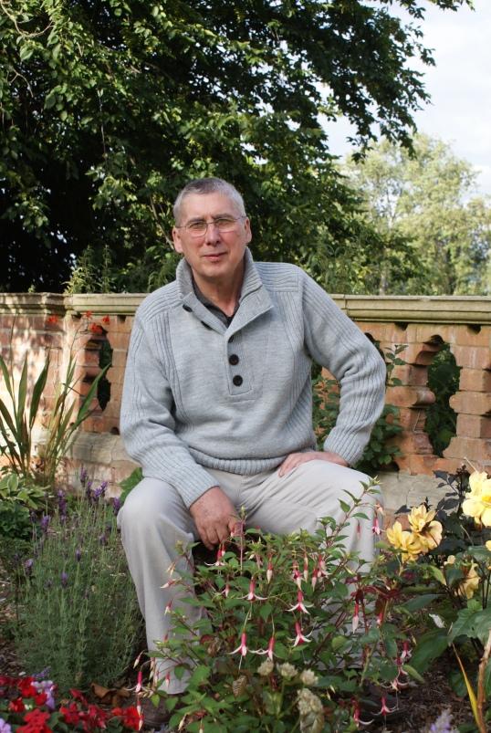 Trevor pic in the garden.JPG
